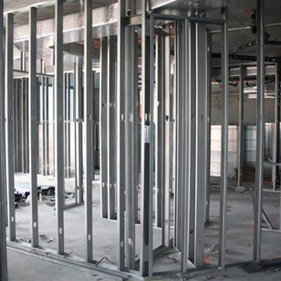 Single Source Services METAL FRAMING | Diamond Drywall & Glass